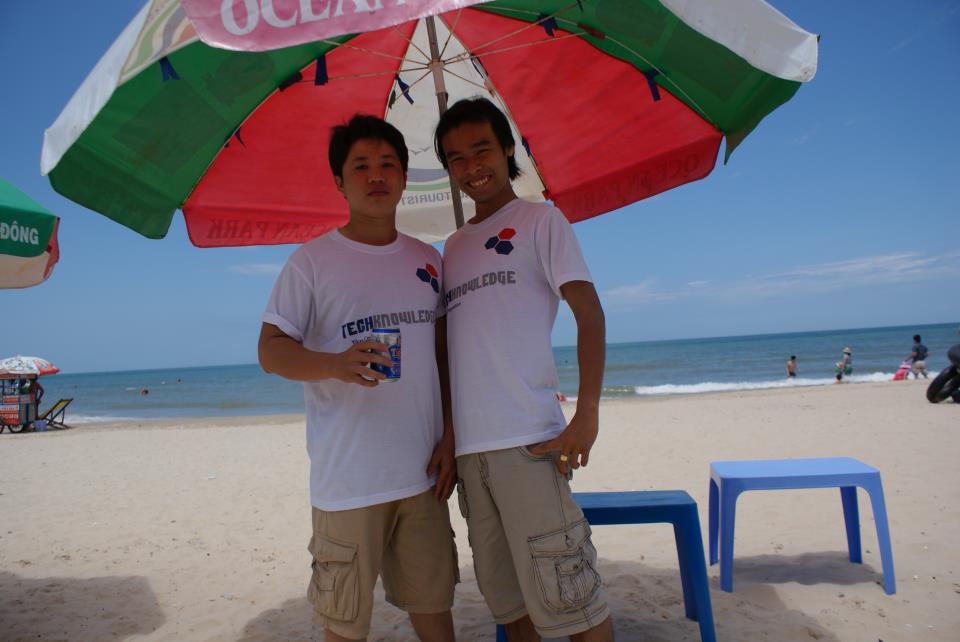Sinh nhật TechKnowledge (lần 4) tại Vũng Tàu ngày 16-07-2011