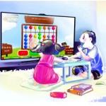 Smart TV – Người bạn đồng hành khi mẹ vắng nhà.